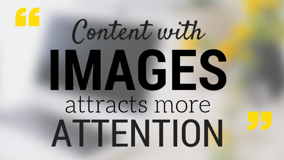 Content with images