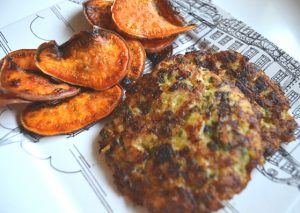 Chicken Patties Made for SNAP Challenge