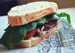 Chicken Sandwich Made for SNAP Challenge